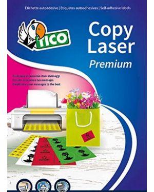 Etichetta adesiva lp4f giallo fluo 70fg a4 47,5x25,5mm (44et - fg) tico LP4FG-4725 8007827270021 LP4FG-4725_53659 by Tico