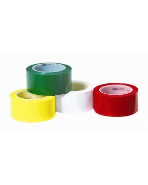 Adesivo 3m in gomma a supporto vinilico 50x33 rosso SCOTCH 82642 021200043055 82642_53735 by Esselte