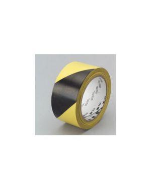 Nastro adesivo 50mmx33mt giallo/nero scotch 766 10580_53736