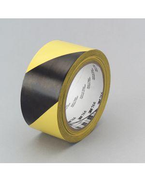 Adesivo 3m scotch a bande diagonali 50x33 giallo - nero SCOTCH 10580 0021200456817 10580_53736 by Esselte