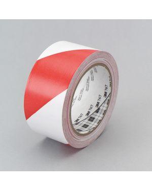Adesivo 3m scotch a bande diagonali 50x33 bianco - rosso SCOTCH 10587 0021200456879 10587_53737 by Esselte