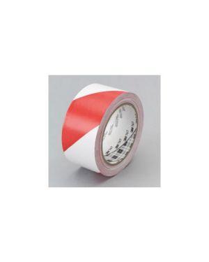 Nastro adesivo 50mmx33mt bianco/rosso scotch 767 10587_53737