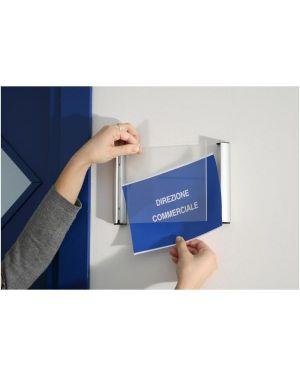 Porta targa a6 - 11x15cm appendibile wall sign PTA03 8010026005639 PTA03_53827 by Tecnostyl
