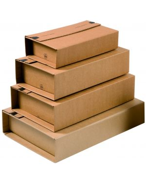 Scatola postale unipac c4 325x250x80mm fustellata CP020.12 53887 A CP020.12_53887 by Colompac