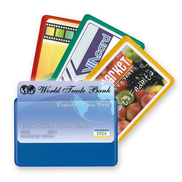 5 buste porta card 1 color 1 tasca 5,8x8,7cm assort 48421190 8004972019390 48421190_53983 by Esselte