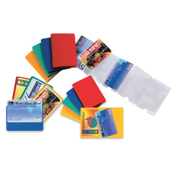 5 buste porta card 10 color a 10 tasche 5,8x8,7cm assort 48422090_53986 by Esselte