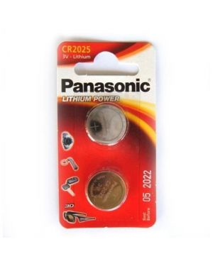 Blister 2 micropile a pastiglia cr2025 litio 3v C302025 5019068085121 C302025_54868 by Panasonic