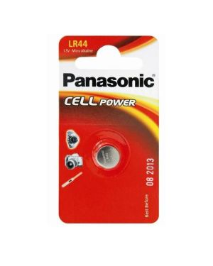 Micropila a pastiglia lr44 alcalina 1,5v panasonic C300044 5019068083035 C300044_54870 by Panasonic