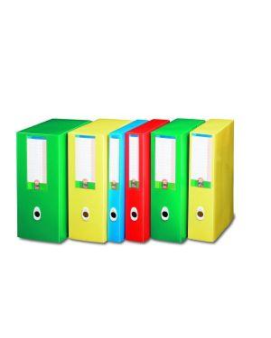 Scatola progetto plus  6  eko rosso Fellowes U206RO 8015687007565 U206RO by Fellowes