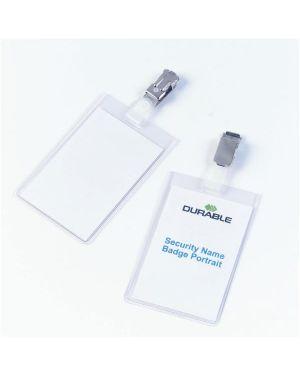 Cf 2 portanome tasca chiusa  90x6 Durable 8002-19 4005546810027 8002-19