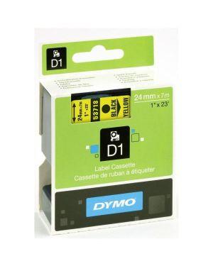 Nastro d1 24mmx7m nero - giallo Dymo S0720980A 5411313537186 S0720980A
