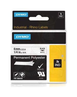 Nastro 6mmx5.5m poliestere ne - bi Dymo 1805442 71701059970 1805442