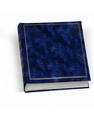 Album foto 30x33cm 50fg in cartoncino c - velina copertina vinile blu lebez 0378-BL 8007509016961 0378-BL_55637