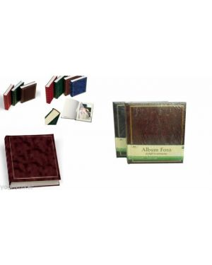 Album foto 30x33cm 50fg in cartoncino c - velina copertina vinile marrone lebez 0378-M 8007509016985 0378-M_55638