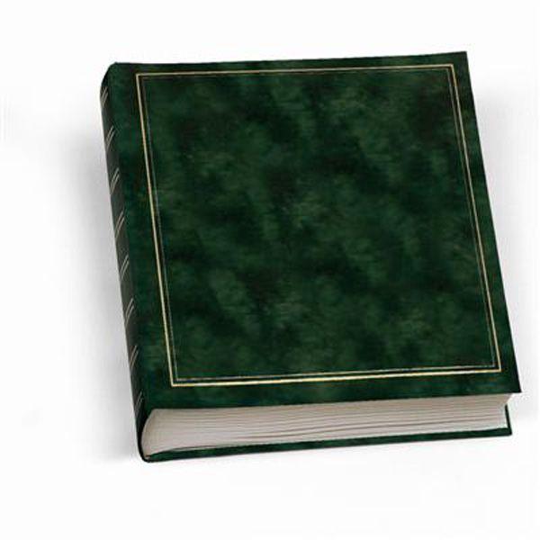 Album foto 30x33cm 50fg in cartoncino c - velina copertina vinile verde lebez 0378-V 8007509017272