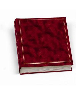 Album foto 30x33cm 50fg in cartoncino c - velina copertina vinile rosso lebez 0378-R 8007509016992 0378-R_55680 by Lebez