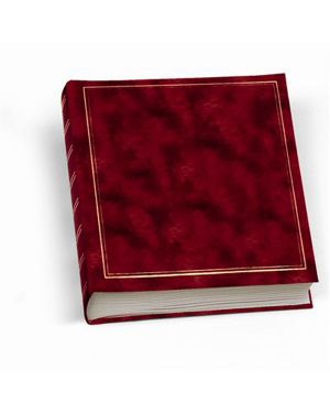 Album foto 30x33cm 50fg in cartoncino c - velina copertina vinile rosso lebez 0378-R 8007509016992 0378-R_55680