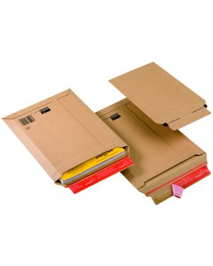 Busta a sacco in cartone a5 185x270x50mm adesivo perm CP010.02 4033657100201 CP010.02_56505 by Colompac