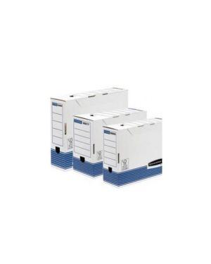 Scatola archivio a4 dorso 100mm bankers box system Confezione da 10 pezzi 0026501_56583 by R-kive