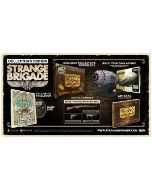 Ps4 strange brigade collector s ed - Strange brigade collector s edition 1027772