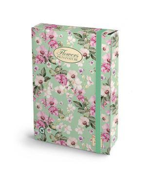 Cartella progetti con elestico 26x34cm dorso 3cm pigna nature flowers 0089256D3 8005235009592 0089256D3_56706 by Pigna