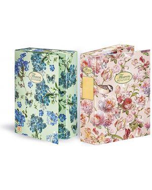 Cartella progetti con elastico 24x34cm dorso 7cm pigna nature flowers 0089255D7 8005235009585 0089255D7_56707 by Pigna