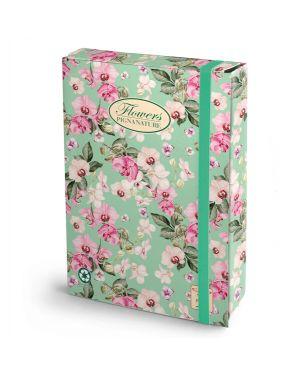 Cartella progetti con elestico 24x34cm dorso 7cm pigna nature flowers 0089255D7 8005235009585 0089255D7_56707 by Pigna