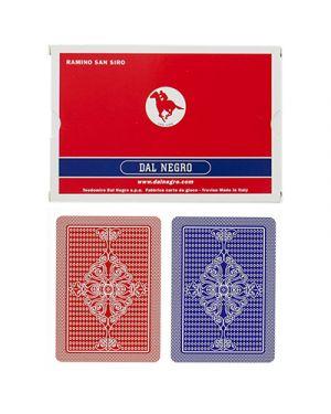 Carte ramino s.siro doppio dal negro DAL NEGRO 24129 8001097200054 24129 by No