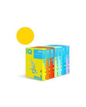 Carta fotocopie colorata forte gr.160 a4 i/q paglierino ig50 fg.250 180036246