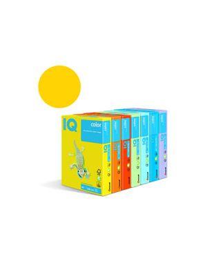Carta fotocopie colorata forte gr.80 a4 i/q paglierino ig50 fg.500 180036777