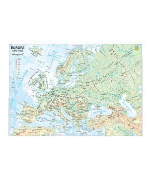 Carta geografica scolastica plastificata europa 297x420mm belletti BS03P 56944A BS03P_56944 by Belletti
