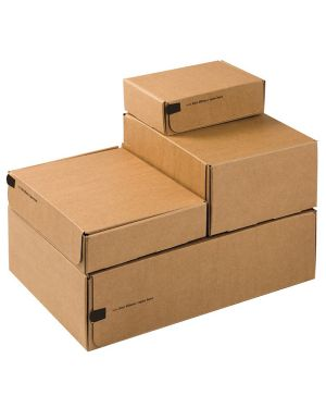 Scatole spedizione modulbox 19,2x15,5x4,3cm avana CP080.04 4033657009344 CP080.04_57016 by Colompac