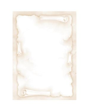 """Carta con stampa """"pergamena"""" avorio a4 90gr 20fg decadry T036720 5413493181814 T036720_57194"""