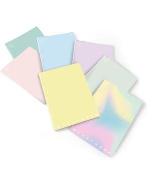 Quaderni monocr pastel a4 80 5m Pigna 02282125M 8005235526358 02282125M
