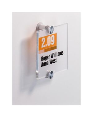 Targa per porte - pareti crystal sign 148x105mm durable 4821-19 4005546403557 4821-19_57345