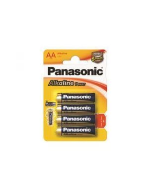 Blister 4 stilo alkaline powerower Panasonic C500006 5410853039273 C500006_57374 by Esselte