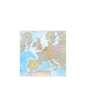 Carta geografica murale europa 132x99cm belletti M03PL/07_57415 by Belletti