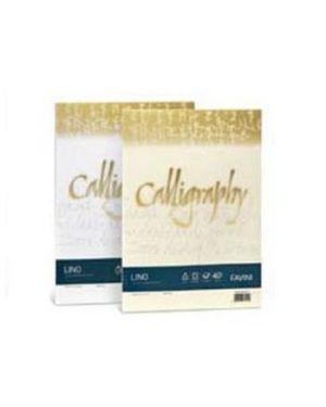 Carta calligraphy lino 120gr a4 50fg avorio 02 favini A69Q514 8007057617658 A69Q514_57469