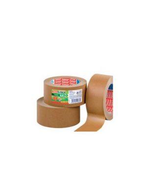 Nastro adesivo 50mtx50mm in carta da imballo ecologo tesa Confezione da 6 pezzi 57180-00000-02_57554 by Tesa