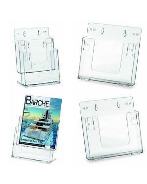 Portadepliant componibili 2 tasche a4 da banco e parete art.5027 5027 8007509050279 5027_57752