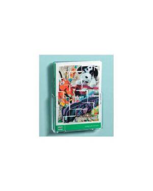 Portadepliant componibili 1 tasca a4 da parete art.5029 Confezione da 3 pezzi 5029_57754 by Lebez