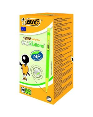 Scatola 50 portamine 0.7mm matic ecolution bic 8877191 3086123218550 8877191_57765 by Bic