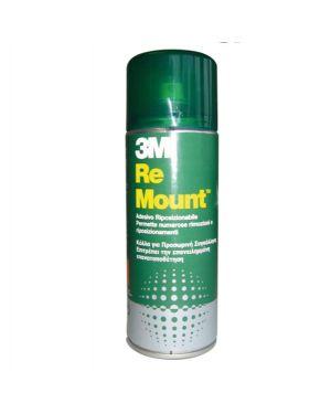 Adesivo spray 3m re-mount rimovibile - trasparente 400ml 59103 5900422003151 59103_57795 by 3m