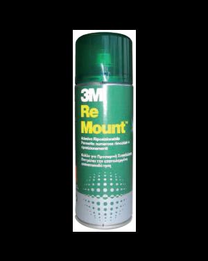 Desivo spray 3m re mount rimovibile   trasparente 400ml 59103_57795