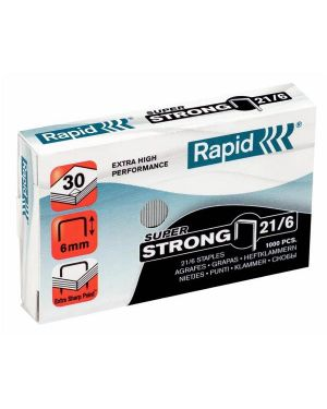 Punti rapid super strong 21/6 pz.1000 24867700_57824 by Esselte