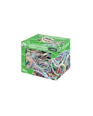 Elastico in gomma misura e colori assort. scatola 500g 50500 8007509036600 50500_57979