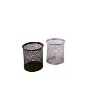 Bicchiere portapenne in rete nero art.1221 1221-N_57988 by Lebez