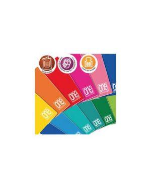Maxiquaderno 210x297mm a4 20fg+1 80gr 5mm c/margine one color blasetti Confezione da 10 pezzi 1415_59478