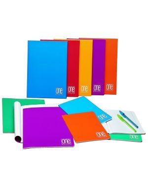Maxiquaderno 210x297mm a4 20fg+1 80gr 5mm c/margine one color blasetti CONFEZIONE DA 10 1415_59478 by Esselte