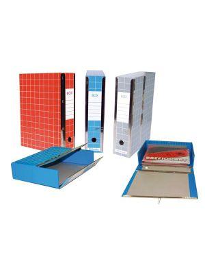 Scatola archivio box4 blu 37,5x29,5x9cm RESX401-B 8014819014624 RESX401-B_59594 by Resisto
